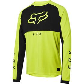 Fox Ranger Dri-Release Mid LS Jersey Men day glow yellow